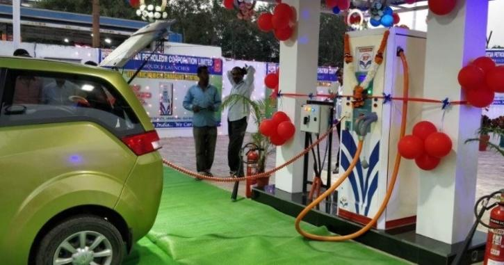 HPCL Charging Station