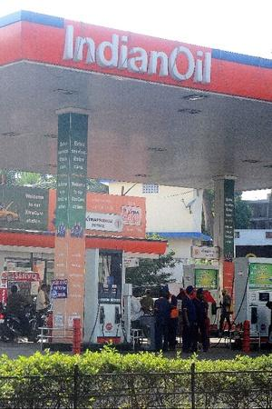 Indian Oil Fuel Station