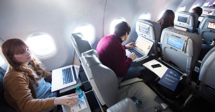 In Flight Wi Fi Service
