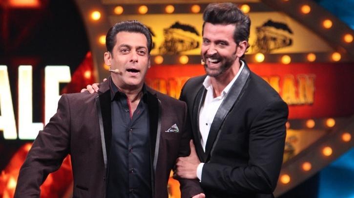 Salman Khan and Hrithik Roshan.
