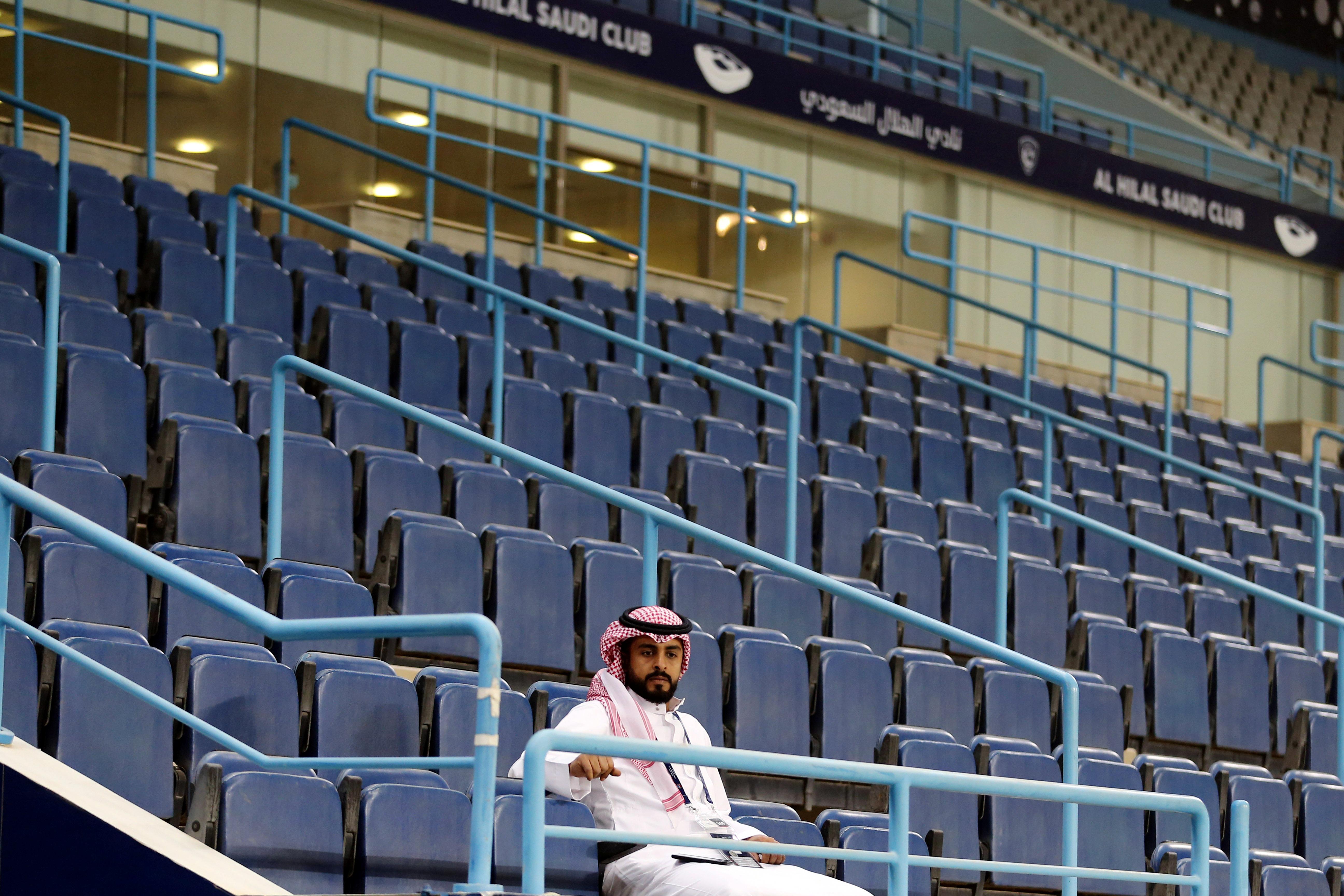 King Saud University Stadium, in Riyadh