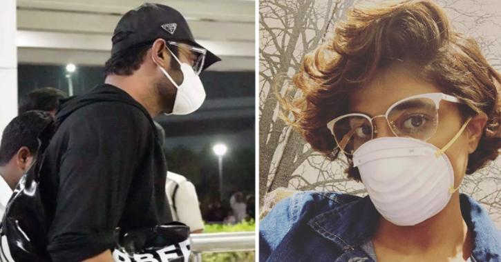 Celebrities Take Coronavirus Precautions! Prabhas & Tahira Kashyap Spotted Wearing Masks