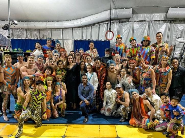 Angelina Jolie Fulfills Her Mommy Duties As She Takes Her Kids Out For Cirque Du Soleil Show