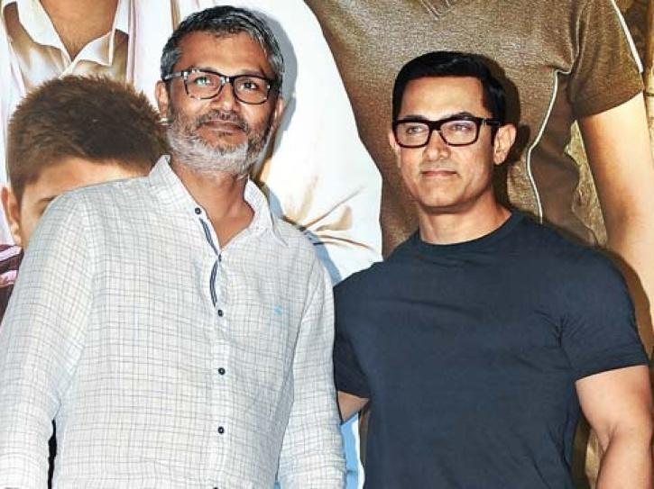 Nitesh Tiwari with Aamir Khan.