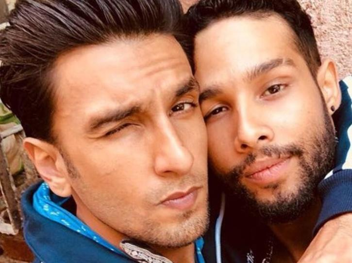Siddhant Chaturvedi and Ranveer Singh in Gully Boy.