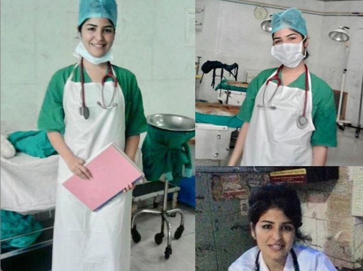 Actress Shikha Malhotra Volunteers As Nurse At BMC Hospital, Says