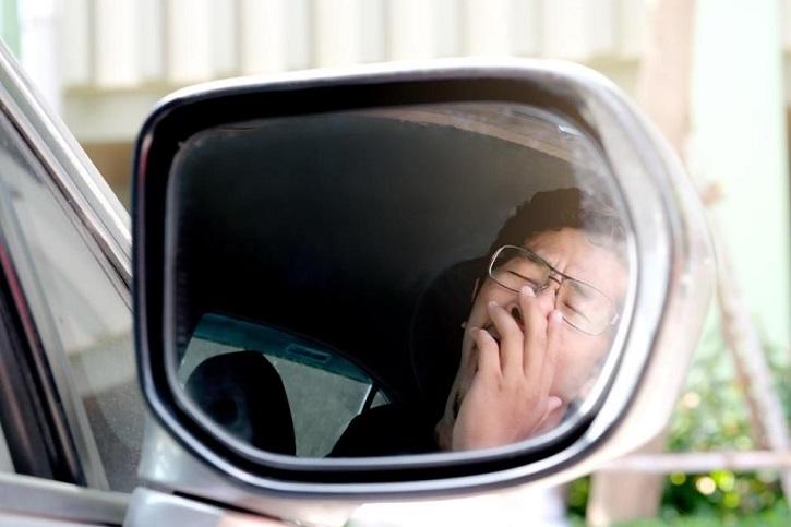 sleep at the wheel
