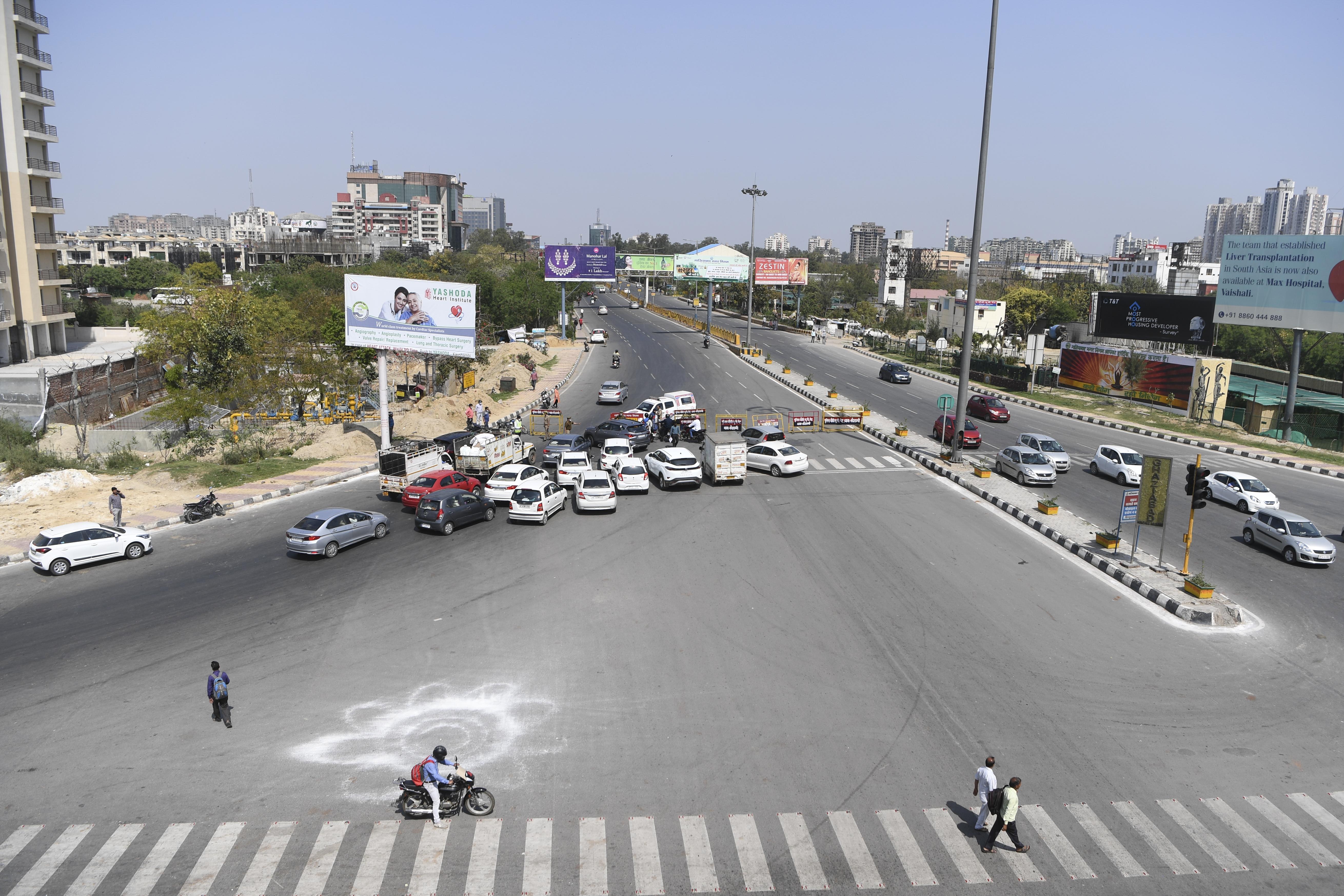 Delhi-Ghazipur Border