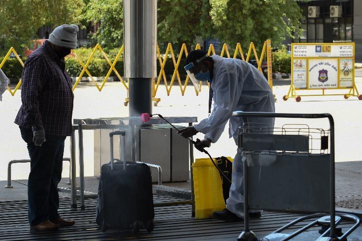 Passengers Luggage should be sanitize