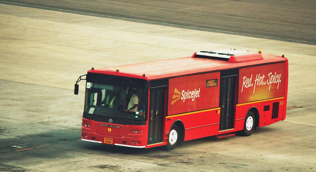 Boarding buses