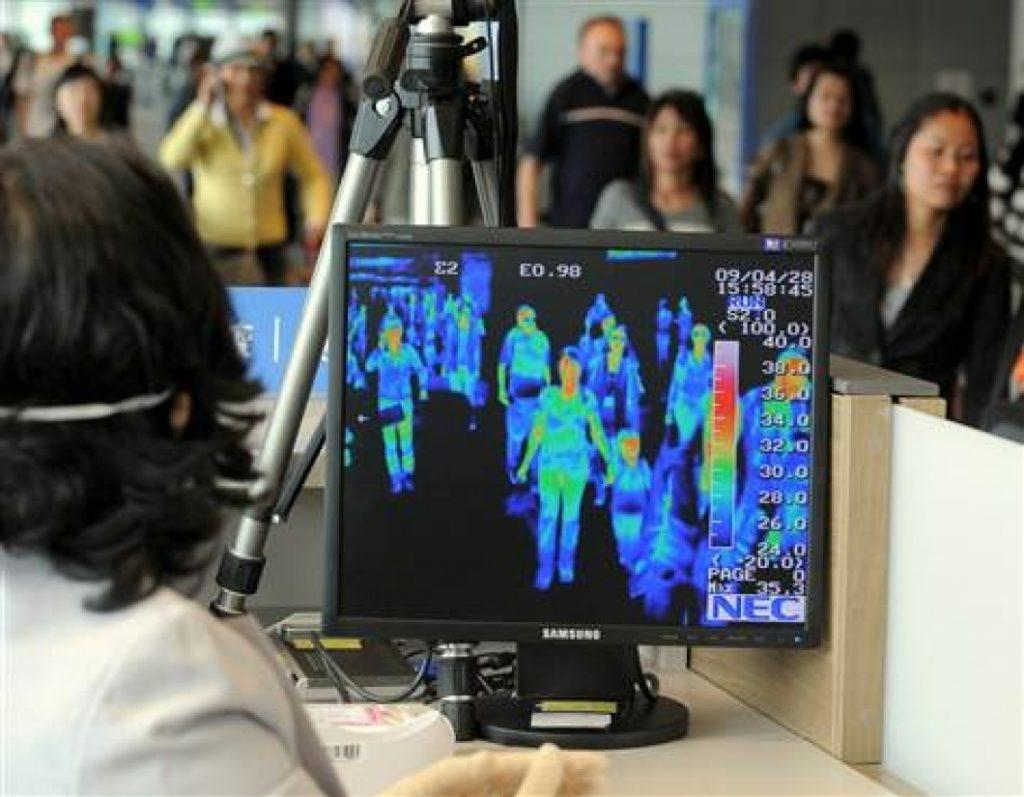 Thermal screening at Airport