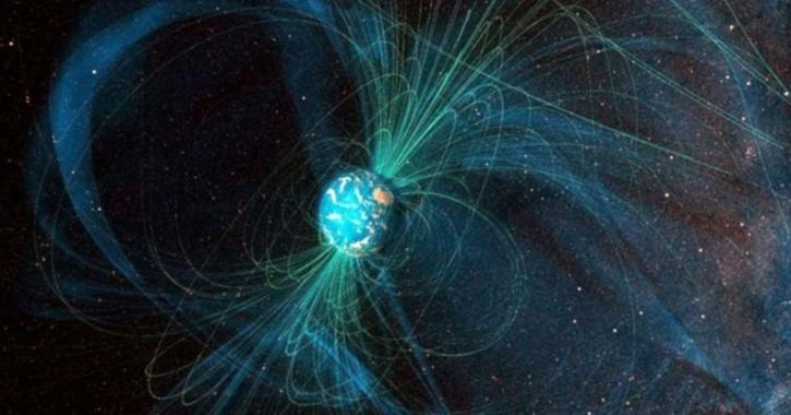 magnetic field of earth is a shield