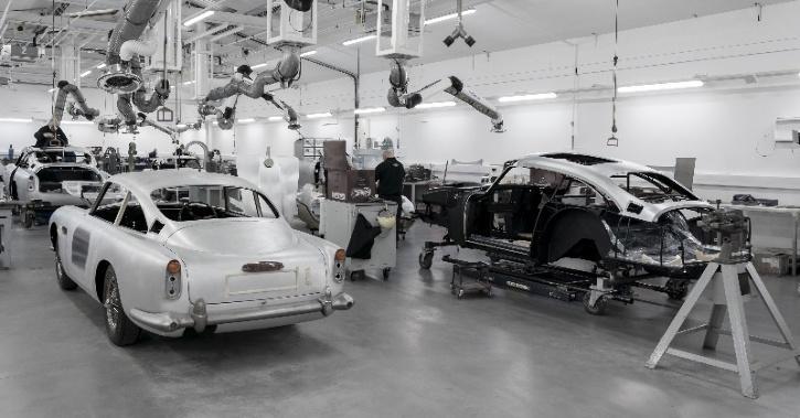 Aston Martin DB5. 'Job 1' DB5 Goldfinger Continuation car