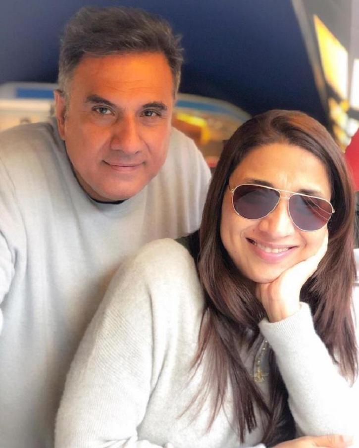 Boman Irani & Wife Zenobia Irani