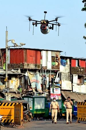 Here's How Drones Busted India's Lockdown Violators
