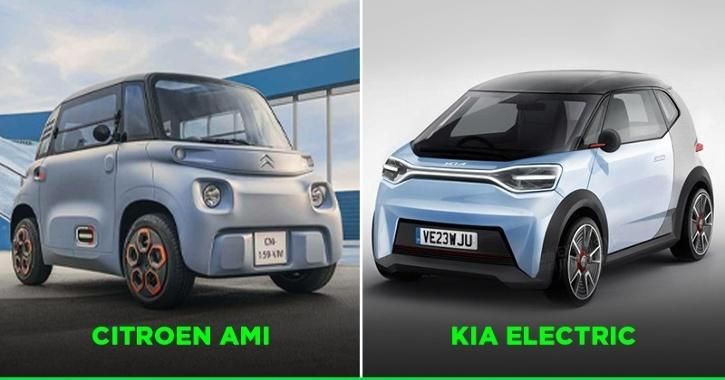 Citroen Ami vs Kia Electric