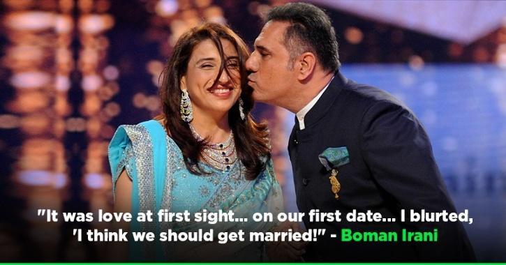 Boman Irani & Wife Zenobia