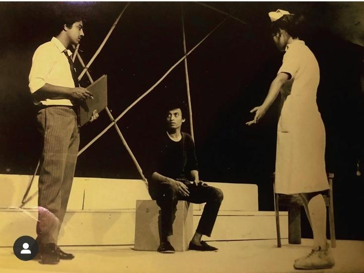Irrfan Khan National School of drama pics.