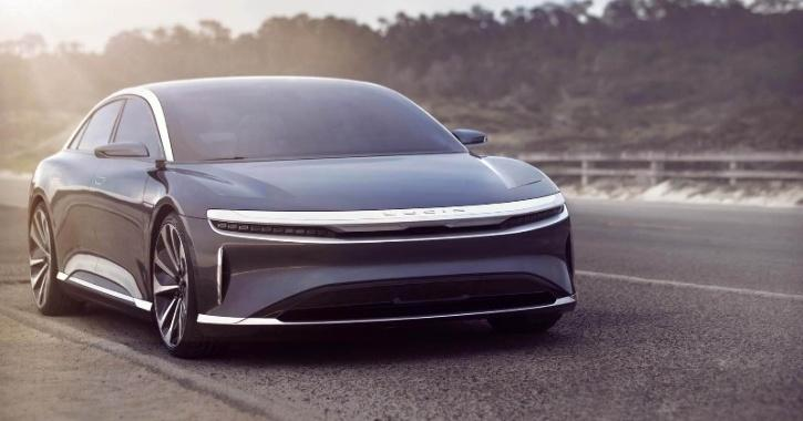 Lucid Air Electric Sedan Better Than Tesla With Range Of 830 Km