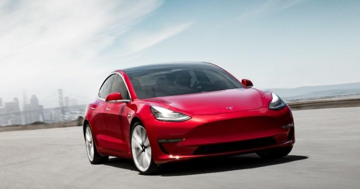 Tesla Model 3 Reverse Charging