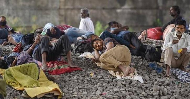 train migrant