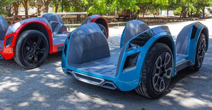 REE Electric Car Flatbed (Image: REE)