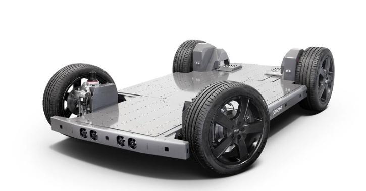 REE Automotive Electric Car Flatbed
