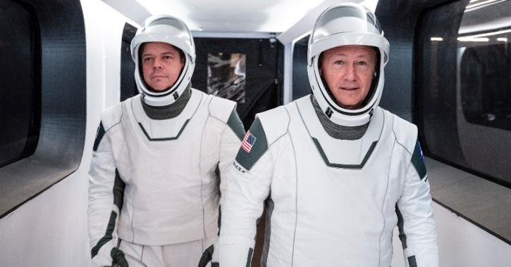 SpaceX Crew Dragon Suit
