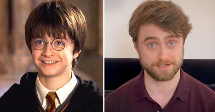 Harry Potter Reading Harry Potter! Fans Go Berserk As Danielle Radcliffe Reads JK Rowling Book