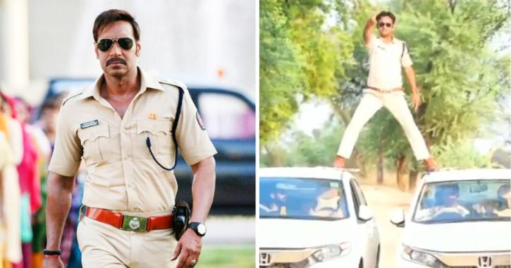 Madhya Pradesh Cop Pull Off