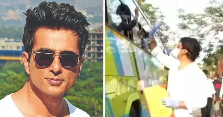 Sonu Sood Arranges Buses Again, Helps 500 Migrant Workers Go Home In UP, Will Send 3000 More Soon