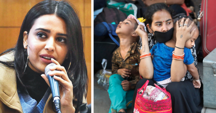 Trolls Make It Difficult For Swara Bhasker To Help Migrants