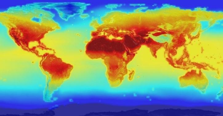 NASA global warming projection