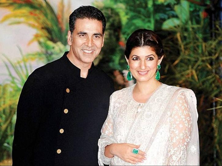 Twinkle Khanna and Akshay Kumar.