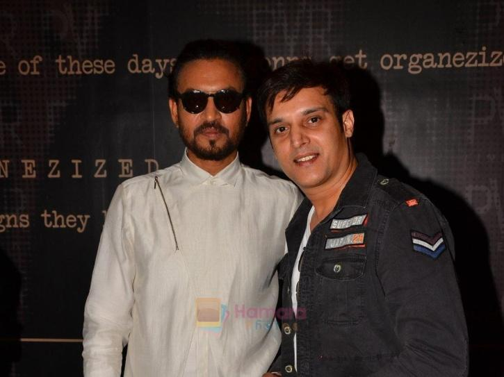 Irrfan Khan and Jimmy Sheirgill.