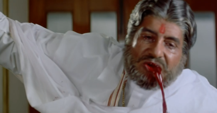 Dramatic blood vomit Sooryavansham