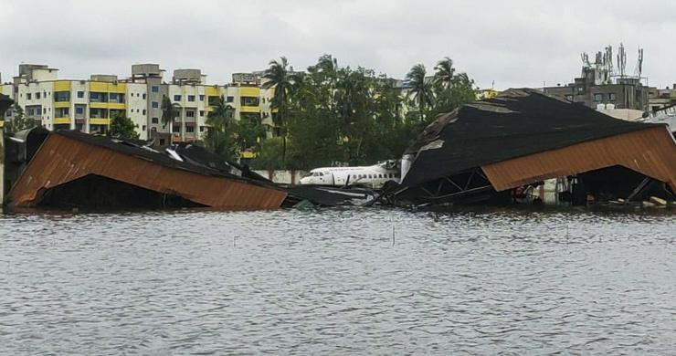 Cyclone Amphan Before And After