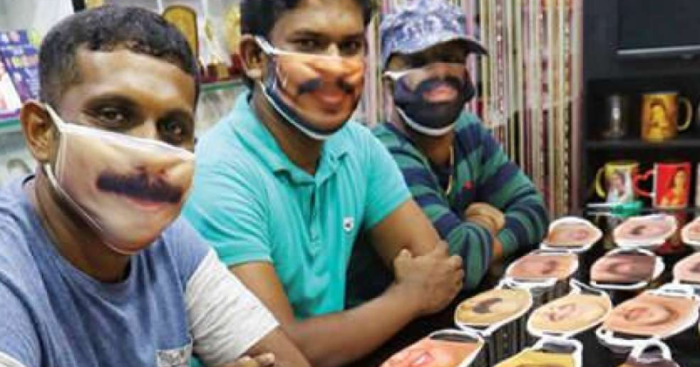 Worried About Not Being Recognisable? Kerala Photog Prints Masks ...