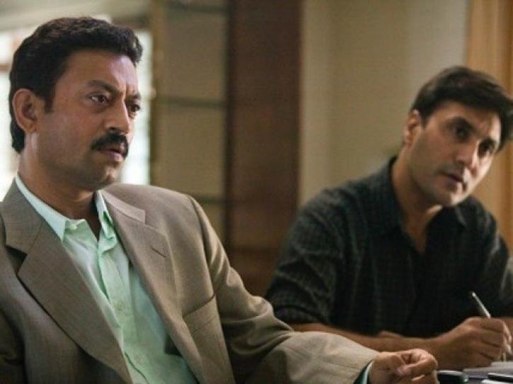 Adnan Siddiqui with Irrfan Khan in A Mighty Heart.