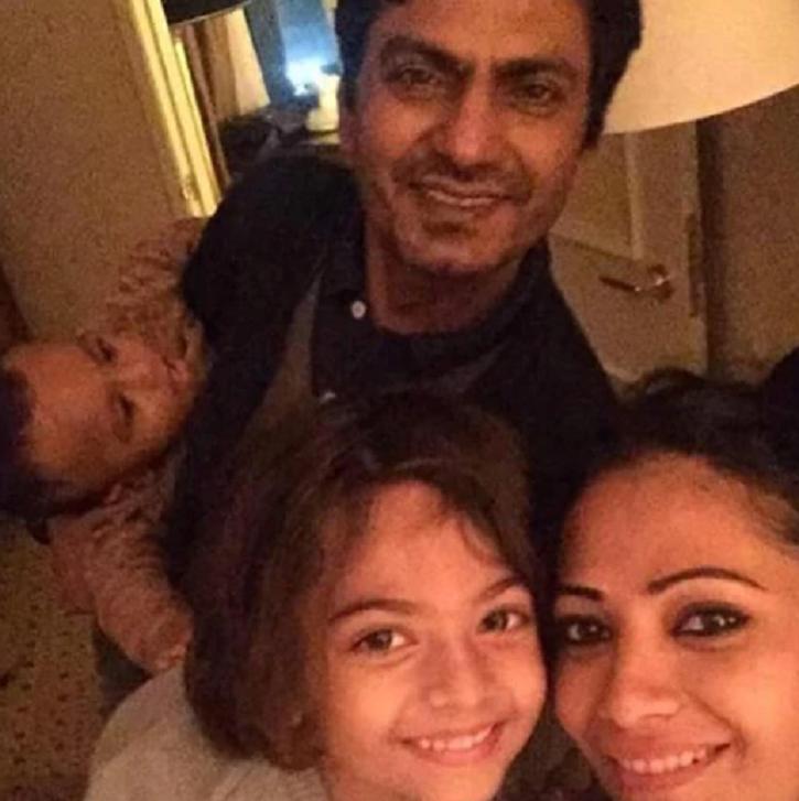 Nawazuddin Siddiqui with family.