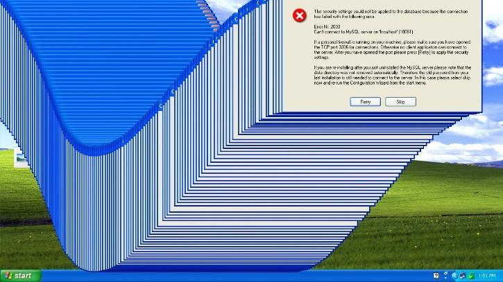 windows error worms