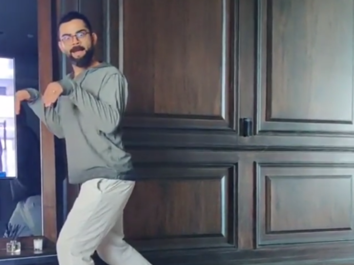 Virat Kohli Enacting Like A Dinosaur At Home Is All Of Us Going Crazy Stir-Crazy During The Lockdown