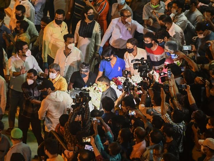 Soumitra Chatterjee funeral