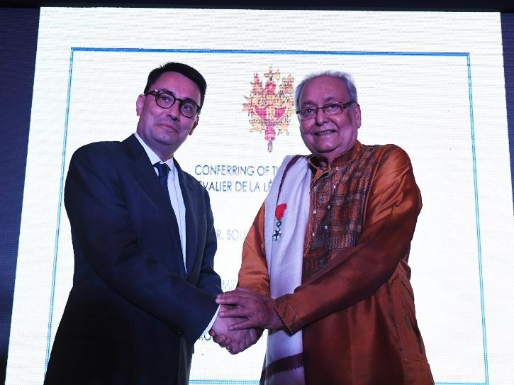 French Embassy Pays Tribute To Soumitra Chatterjee After Honouring Him With The Highest Award