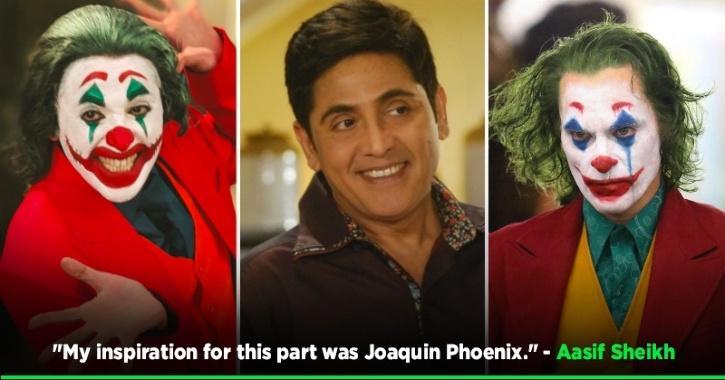 Aasif Sheikh Turns Joker For