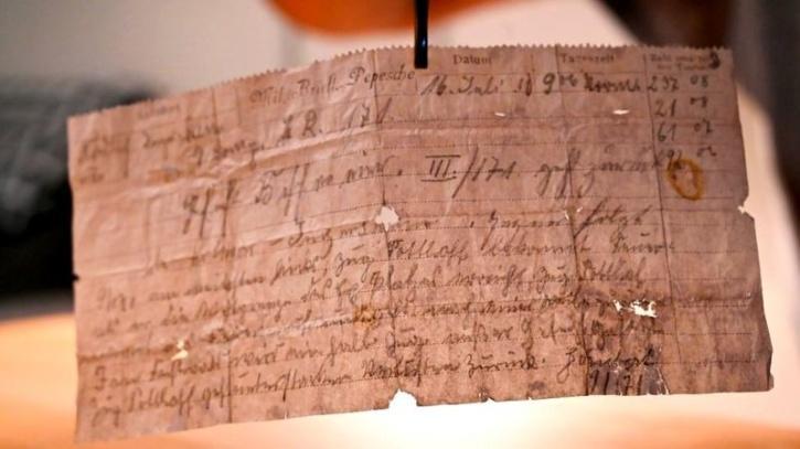 german soldier letter