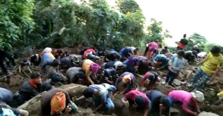 Villagers digging for 'diamonds' in Wanching