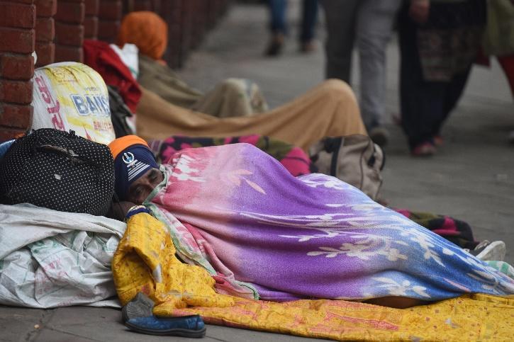 Delhi Winter, Delhi Winter  COVID-19, Delhi Winter Homeless, Delhi Winter Night Shelter