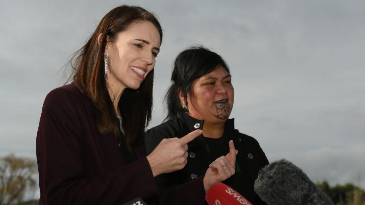 a leader from the Maori community, an indigenous group of people in New Zealand,