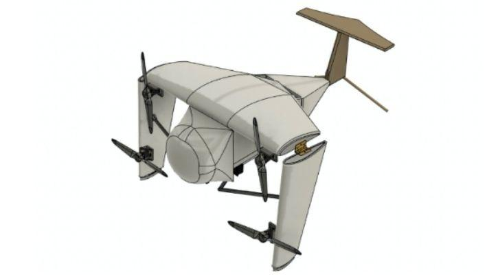 team ternegle drone dassault